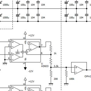AD633アナログ乗算器プリアンプ その5