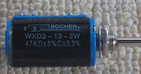 多回転ボリューム WXD3-13-2W 47kΩ パッシブプリアンプ?