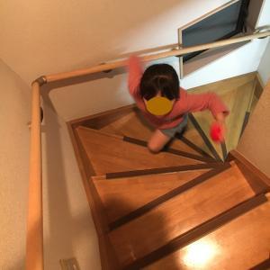 安全確保した階段・排出したゴミ袋の数 (3)Rさんの記録