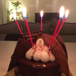 夫の誕生日ケーキにイチャモン。チョコレートは好きやけど、チョコケーキは違うねん!