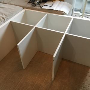 IKEAカラックス組立て & カグスベールと未来不安考