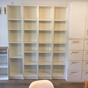 THE 解体ショー IKEA BILLY・・・ジモティー投稿から30分で引取り手が決定。