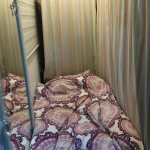 我が家の秘密基地(カプセルルーム)に宿泊客
