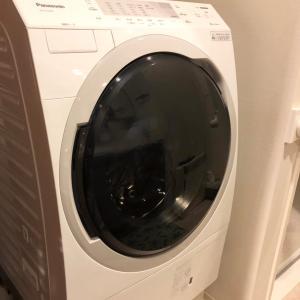 実家の洗濯機が壊れました。新しく購入した洗濯機は