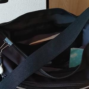 嫌いなショルダーバッグをついに買った