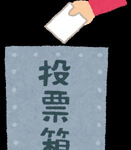 今日は横浜市長選ですね