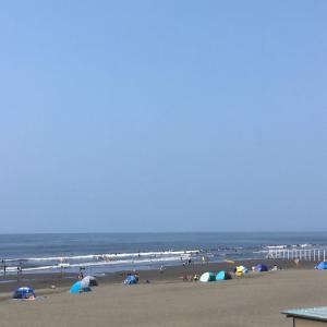 梅雨明け、真夏日、久々海