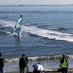 湘南平と津久井浜海岸のどちらも行ってみたかったイベントを見学