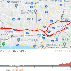 Ride with GPSに走行ログを保管しだしてマニアックな問題発生