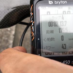brytonRider450の使い方③(ルート変更、タイム計測、Upload、ごみデータ削除)