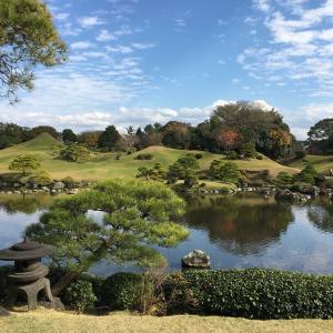 🚍車旅-熊本県(水前寺公園と熊本城)