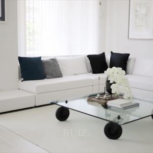 モデルルームなペット共存家具
