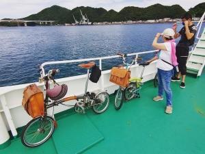 BROMPTONと、ワクワク渡船輪行の旅!