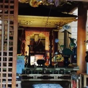 最御崎寺の仏様、コリャー、罰があたるで