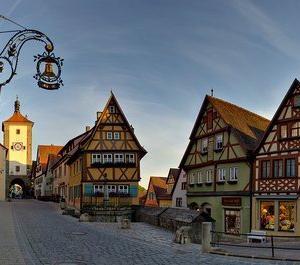 現代の中世都市ローテンブルクの沿革