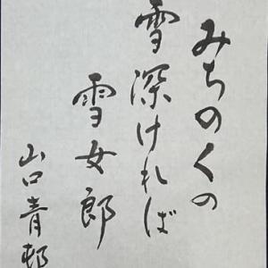 雪女郎(ゆきおんな)