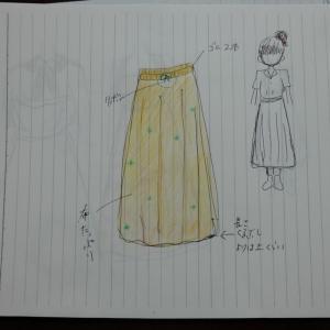 完全素人がオリジナルのお洋服を作るまで その1【デザインしてみた】