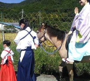 吉川八幡神社(大阪府豊能郡)へ 神馬に会いに11(まとめ)