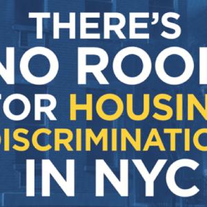 ニューヨーク住宅局の、Section 8にあった感動のポスター。
