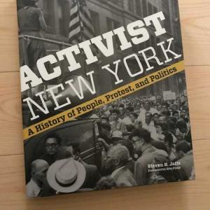 ニューヨーク市博物館のショップで本を購入。目次でニューヨークの活動家の足跡がわかる!