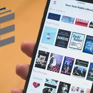 NYPLの無料アプリ、SimplyEで30万冊の本がダウンロードできる。