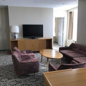 クラウンプラザホテル宇部 ANA CROWNPLAZA HOTEL UBE スイートルーム 1泊2日滞在レポ!朝食レポートあり!【ホテル】
