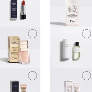 Diorのラグジュアリーミニチュアおすすめ5選【Dior】