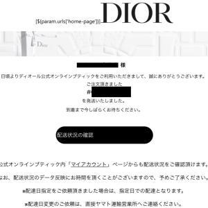 [2020年クリスマス最新]ディオールのオンライン(通販)注文は最短何日で届くの? 【Dior】