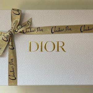 ディオールのホリデーオファー(2020)を豪華なオンラインブティックで購入品開封レポ【Dior】