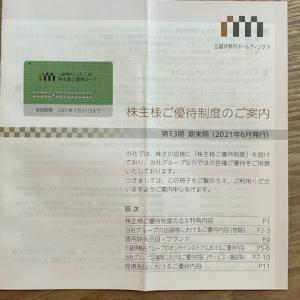 三越伊勢丹の株主優待カードをゲットした【デパート】