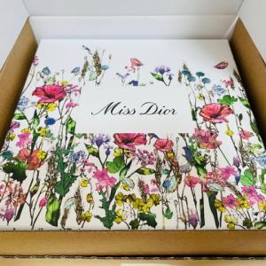 2021年Miss Diorオンライン(通販)無料ギフトラッピング購入品開封レポ【Dior】