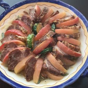 Vol.3652 豚肉と信州りんごのノルマンディポットロースト