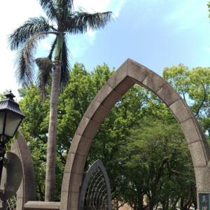 台湾の淡水・真理大学にて李登輝元総統国葬