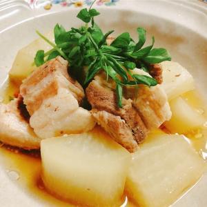 豚のトロトロ角煮&低糖質チャーハン【ゆる糖質メニュー】