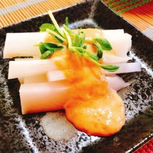 味噌マヨダレの大根スティック【ゆる糖質ダイエット】