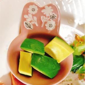 セリアで買ったうさぎのお皿【ゆる糖質制限メニュー】