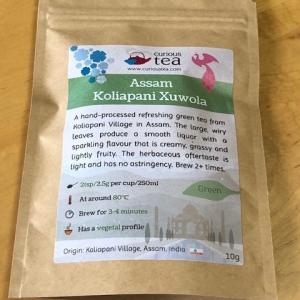 Curious Tea アッサム2019SF Koliapani Xuwola Green