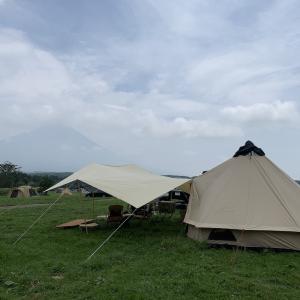 新テントでキャンプ in ふもとっぱら