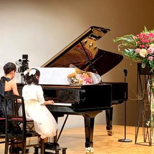 ピアノ発表会②(子供達のステージ/前半編)