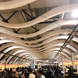 【閑話休題】銀座線渋谷駅が新しくなってましたーー!!