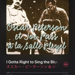 【ジャズ】I Gotta Right to Sing the Blues