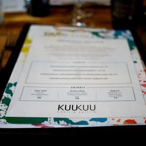 【Ravintola KuuKuu】人生最高のレストラン in ヘルシンキ