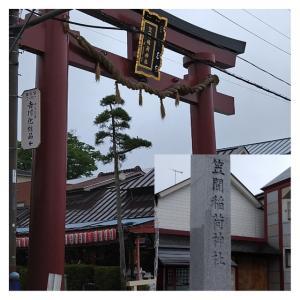 6月27日 御神木は胡桃 笠間稲荷神社