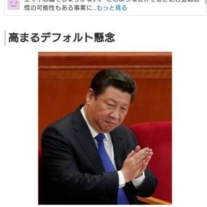 中国バブルの崩壊