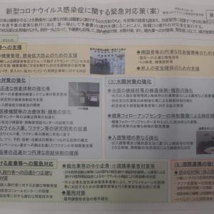 新型コロナウイルス感染症に関する  緊急対応策(案)