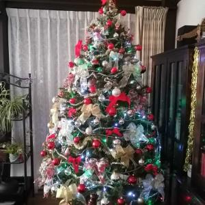 施主様のクリスマスツリーはこんなに大きい!!