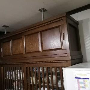 グランパ流食器棚、冷蔵庫の地震対策