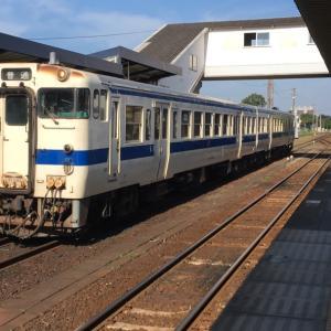 枕崎線とキハ40