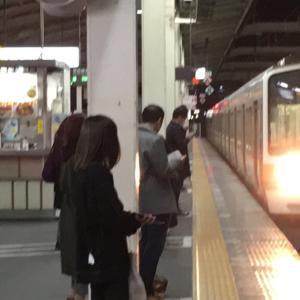 ムーンライトながらに乗るため、東京へ