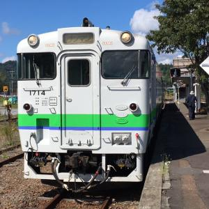 石北本線4623〜4663D(上川ー遠軽ー網走)キハ40の旅。